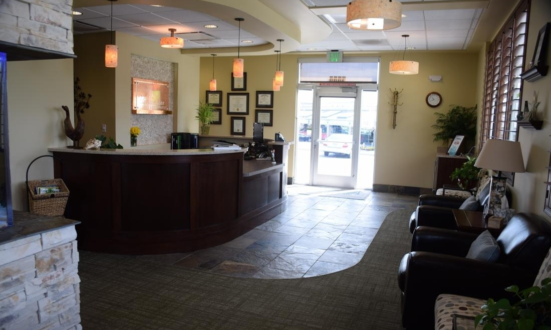 Waiting Area at Fleischmann Family Dentistry in Broomfield, CO