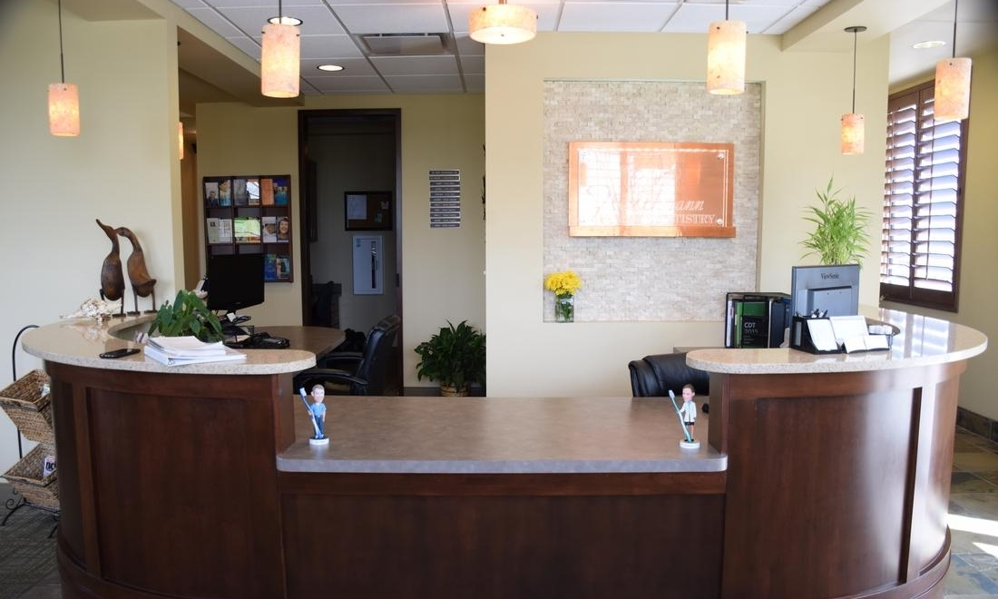 Reception at Fleischmann Family Dentistry in Broomfield, CO